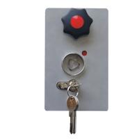 Schlosskasten Profilzylinder / CI und Feuerwehrdreikant für: Drehsperren und Höhenbegrenzung und WES 31 und WES 41