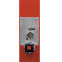 Feuerwehrdreikant Zusatzset für Schranke mit Gasdruckfeder WES 300D